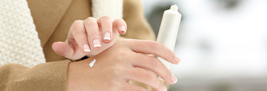 Crème mains très sèches