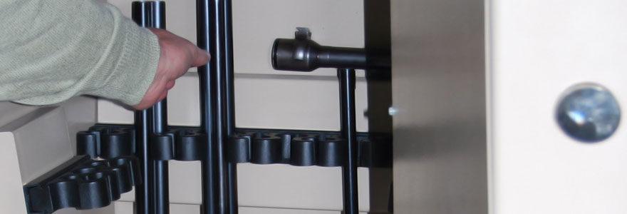 Rangement fusil